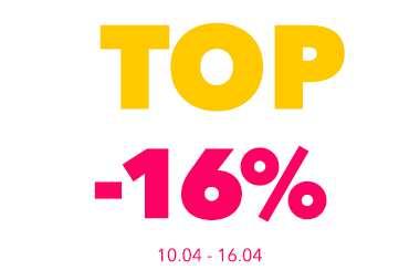 16% RABATU na projekty domów TOP 102
