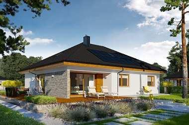 Małe domy z poddaszem do późniejszej adaptacji