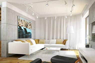 WNĘTRZA INSPIRACJE – dom Leosia G1 ENERGO – nowoczesna wygoda