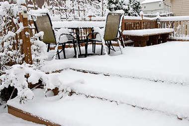 Jak przygotować taras na zimę?