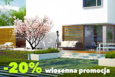 20% RABATU na wszystkie projekty domów!