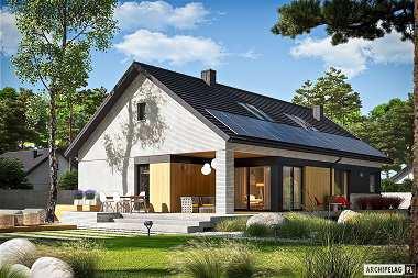 Nowoczesne projekty domów z dachem dwuspadowym