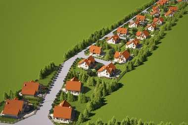 Osiedle domów jednorodzinnych w Czernicy
