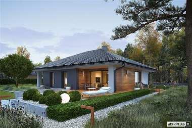 TOP 2019 –  projekty domów parterowych