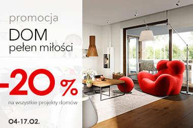 20% RABATU na wszystkie projekty