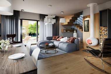 WNĘTRZA-INSPIRACJE - dom Nils II G2 ENERGO PLUS – stylowo i przytulnie