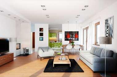 WNĘTRZA INSPIRACJE – dom Amaranta G2 – dobra, jasna energia