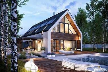 TOP 2019 – projekty domów z poddaszem użytkowym