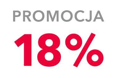 Promocja - 18% RABATU na start