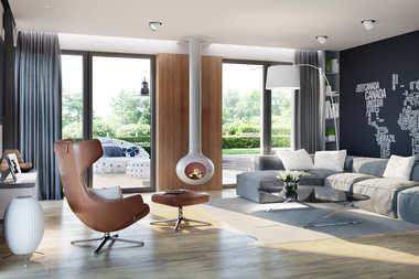 WNĘTRZA-INSPIRACJE – projekt domu Simon G2 – elegancja z nowoczesnym pazurem!