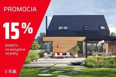 Promocja 15% RABATU na wszystkie projekty