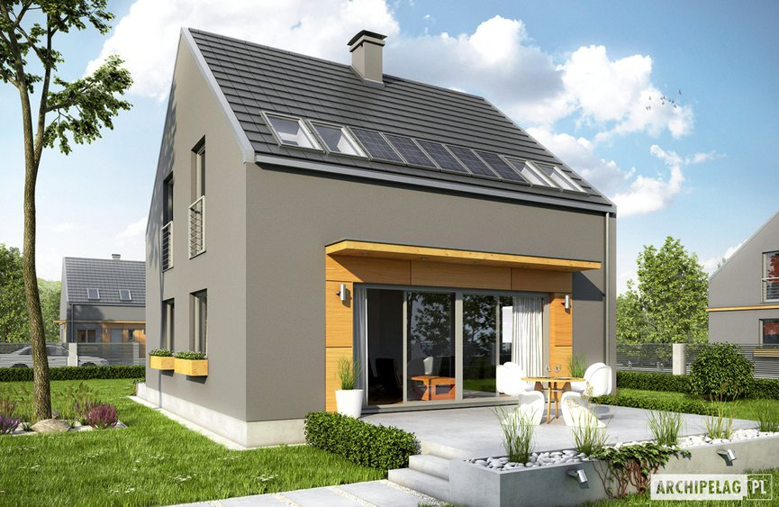 Projekt domu E7 ENERGO PLUS