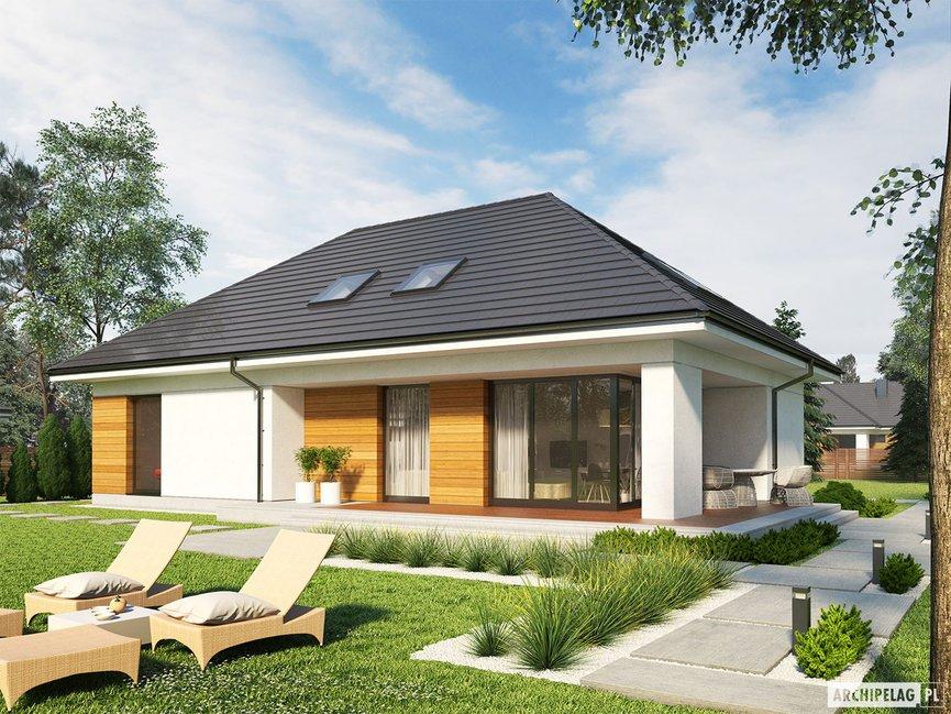 Wizualizacja projektu domu Olaf G2