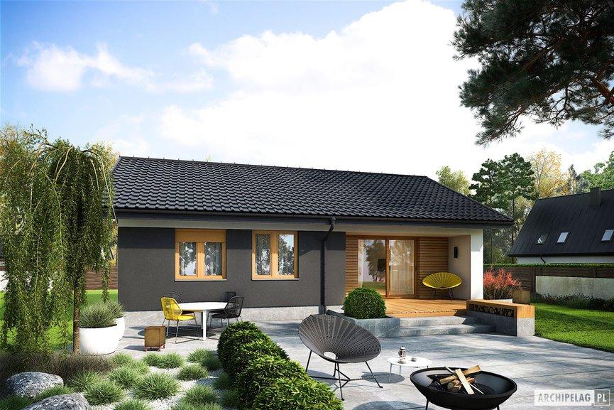 Wizualizacja projektu domu Mini 3