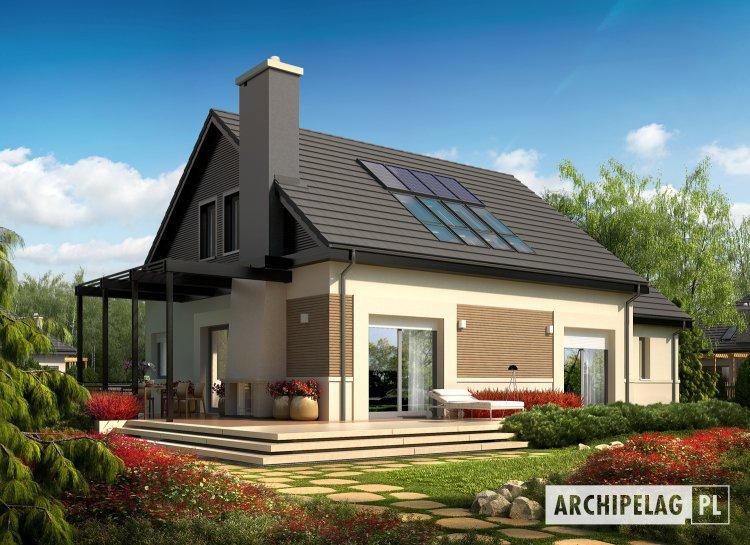 projekt domu Niki II G1 ENERGO