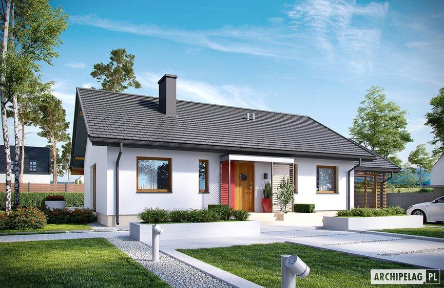 Projekt domu Kornel VI (z wiatą) ENERGO