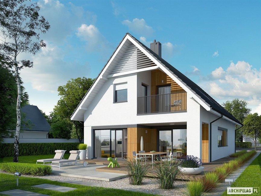 Wizualizacja projektu domu Riko G1