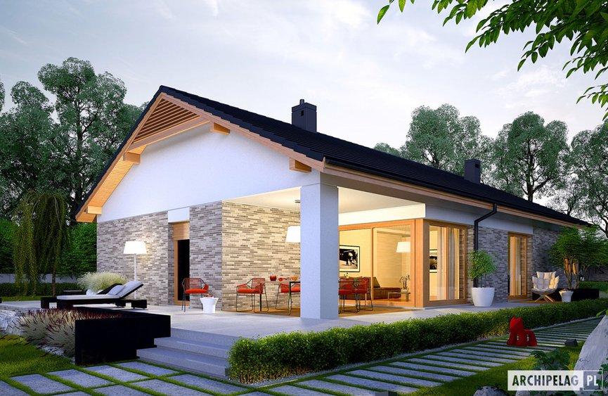 10 najciekawszych dom w z tarasem archipelag. Black Bedroom Furniture Sets. Home Design Ideas