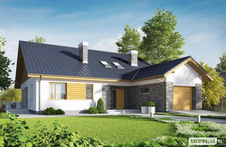 Projekt domu - Klementynka II G1