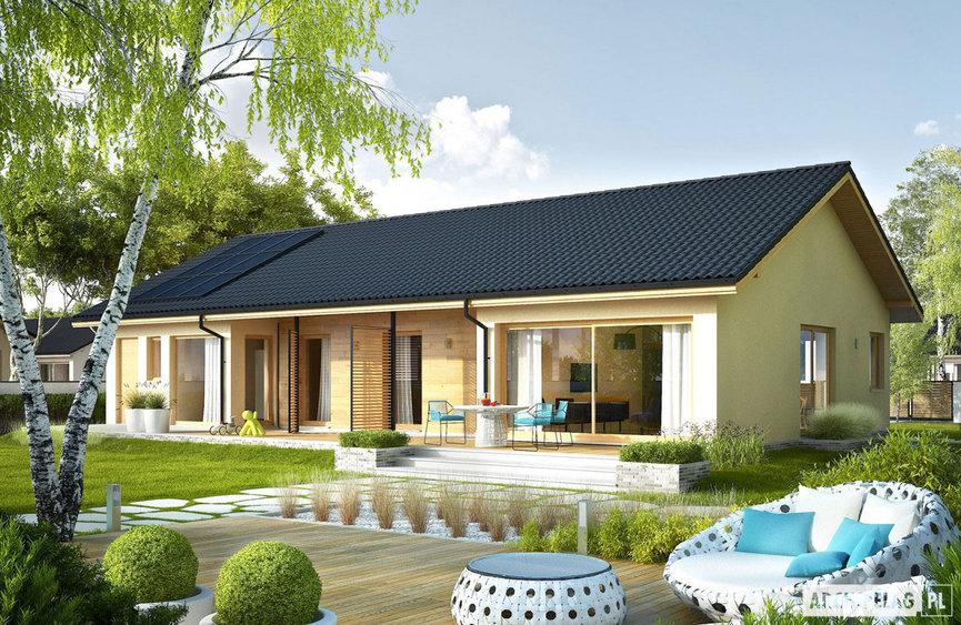 Projekt domu Eryk IV G1 ECONOMIC
