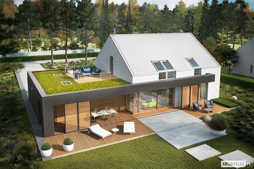 Wizualizacja projektu domu EX 18 G2 ENERGO PLUS