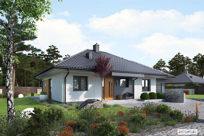 Wizualizacja projektu domu Mini 1 G1