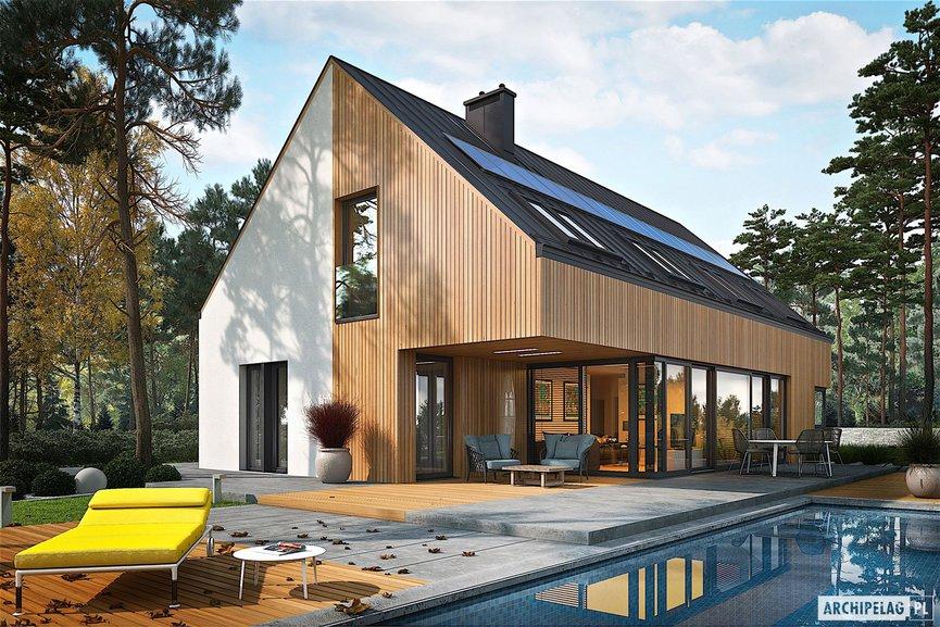 Wizualizacja projektu domu Daniel V G2 ENERGO PLUS