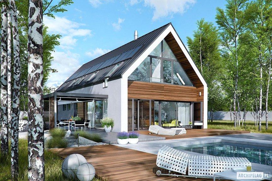 Wizualizacja projektu domu EX 19 G2 ENERGO PLUS