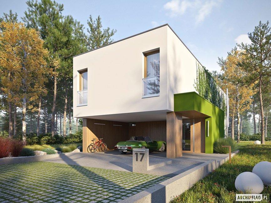 Wizualizacja projektu domu EX 17 W2 ENERGO PLUS