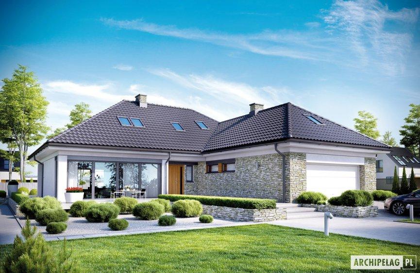 Top 10 Domy Z Użytkowym Poddaszem I Garażem Archipelag