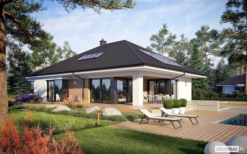 Wizualizacja projektu domu Tanita II G2