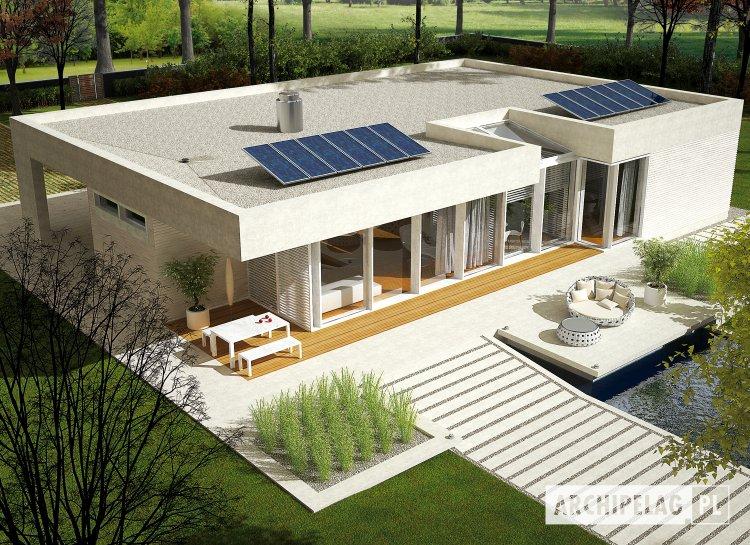 Projekt domu EX 6 (z wiatą)