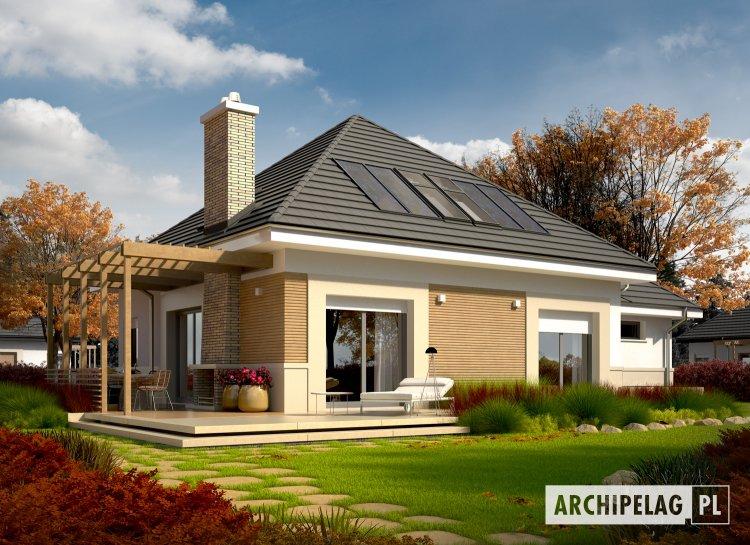 Projekt domu Niki G1 (wersja A) ENERGO