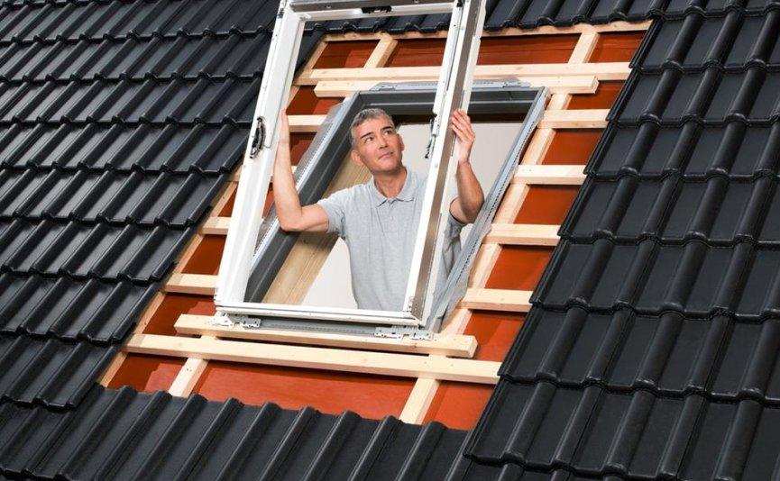 Wysokość montażu okna dachowego | Fot. FAKRO