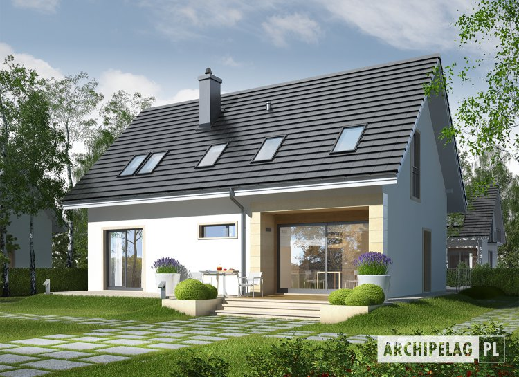 Projekt domu E2 II ECONOMIC (wersja B)