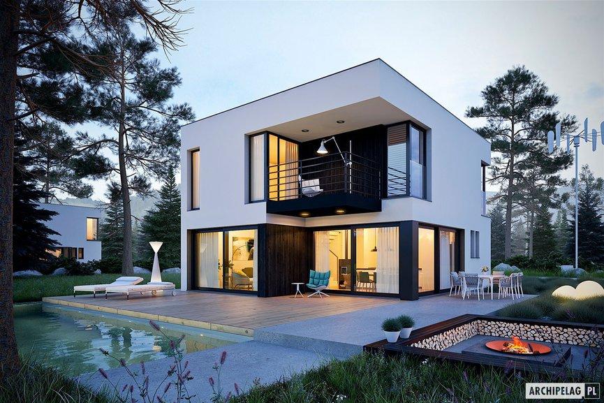 Wizualizacja projektu domu EX 2 soft