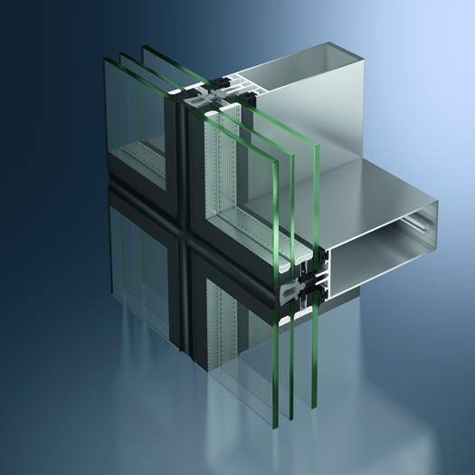 Nowość Efektywny Atrybut Szklanej Architektury Fasady