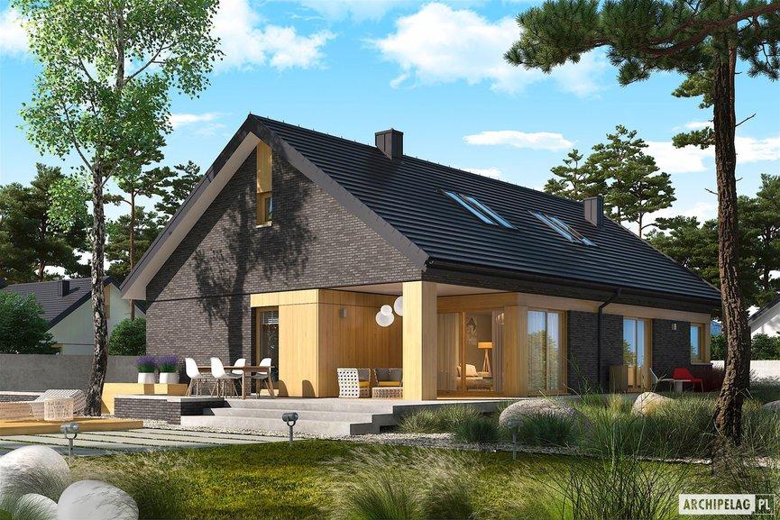 Wizualizacja projektu domu Daniel IV G2