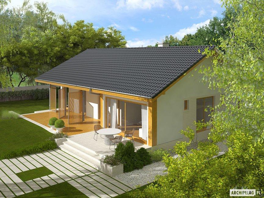 Wizualizacja projektu domu Eryk ENERGO PLUS