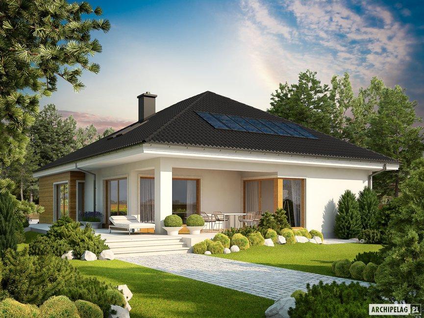 Wizualizacja projektu domu Liv 3 G2