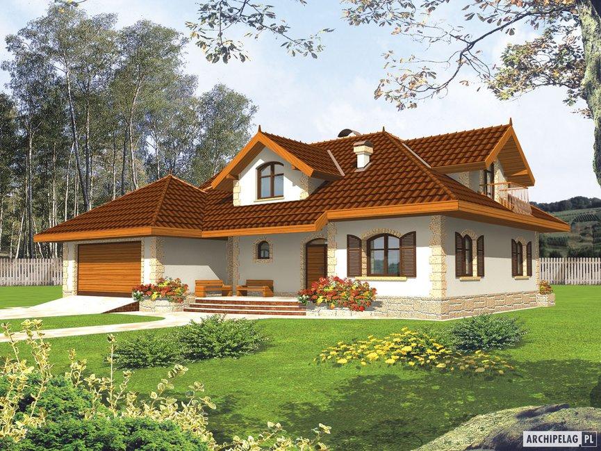 Wizualizacja projektu domu Marysia II G2