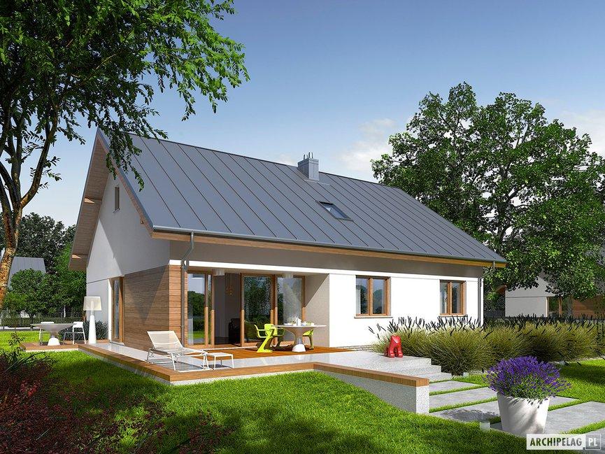 Wizualizacja projektu domu Swen