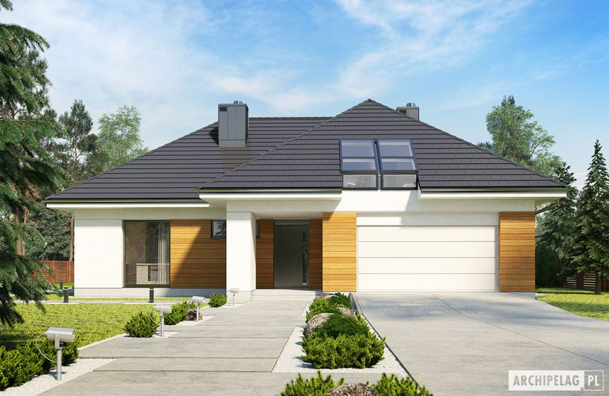 Projekt domu Olaf G2