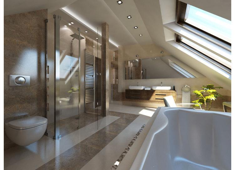 Projekt domu Filip G2, wnętrze: www.kingasliwa.pl dla Pracowni Projektowej ARCHIPELAG