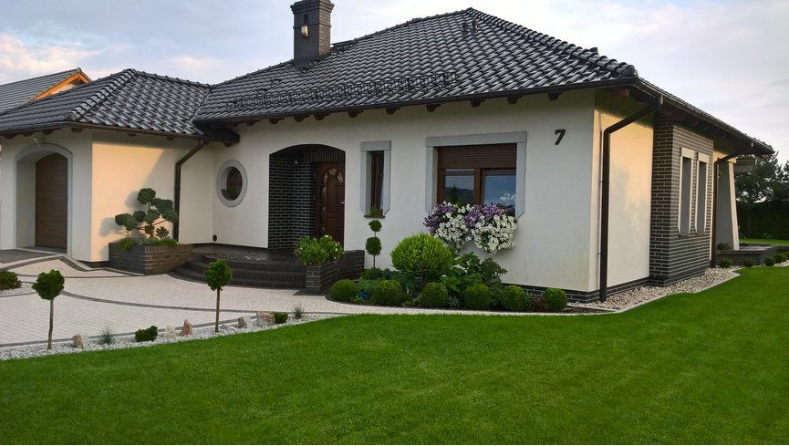 Kornelia ii g2 leca dom realizacja projektu archipelag for Piccola casa moderna progetta un piano
