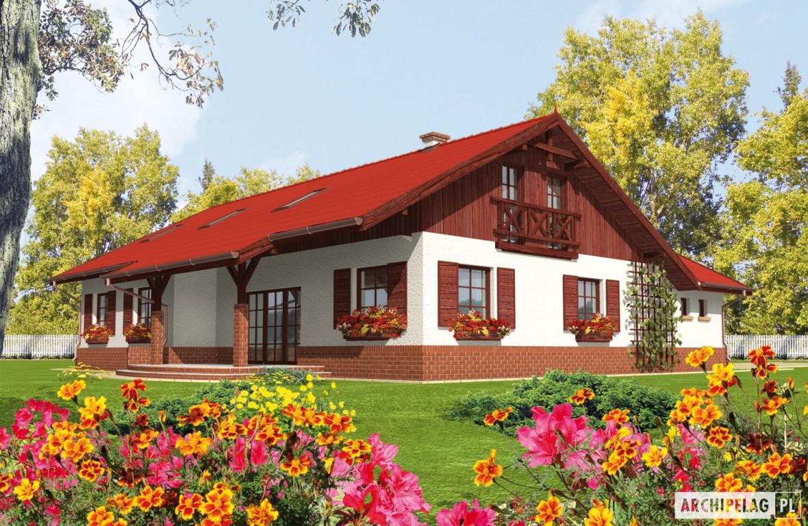 R zia g1 projekt domu archipelag - Casas rurales prefabricadas ...