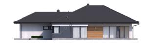 Projekt domu Tanita III G2 - elewacja prawa