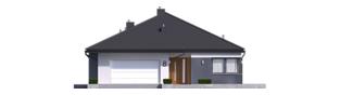 Projekt domu Tanita III G2 - elewacja frontowa