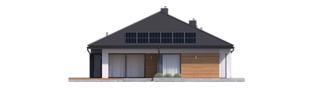 Projekt domu Tanita III G2 - elewacja tylna
