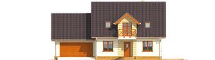 Projekt domu Marina G2 - elewacja frontowa